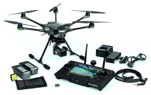 Yuneec H3 YUNTYH3EU | contenu boite | First Drone