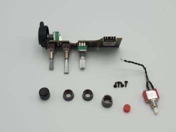 Bouton de contrôle gauche Yuneec ST16S | First Drone