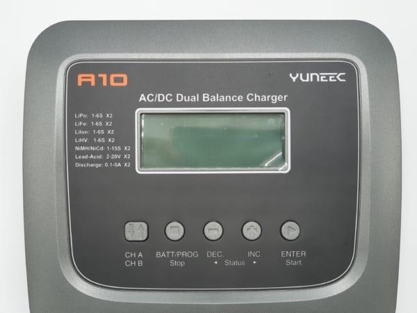 Chargeur Yuneec A10 Dual – Panneau De Control | First Drone