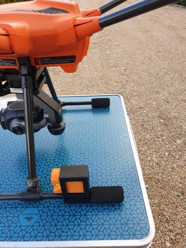 Signal drone Skyinnov SD20B orange sur H520 | First Drone